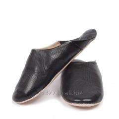 Men's Leather Babouche Slippers