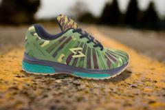 Green Battle Sport Shoes