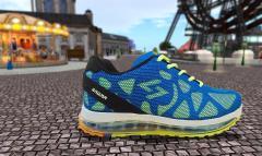 Blue-Green Sport Shoes