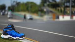 Black - Blue Sport shoes