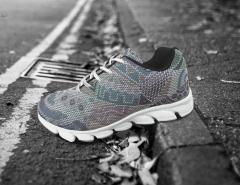 White Grey Sports shoes