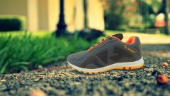 Black Orange casual shoes