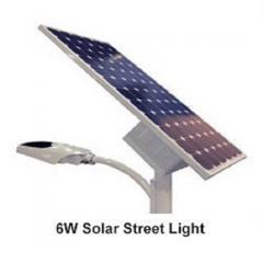 6W Solar Street Light