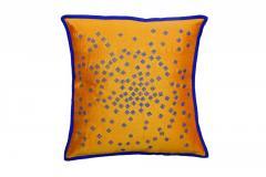 Fardi Work Yellow Cushion Cover