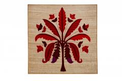 Red Colour Banana Tree Style wall Hanging
