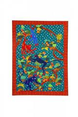 Multi-Coloured Monkey work Wall Hanging
