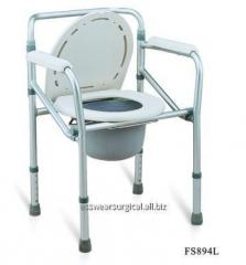 Commode Walker Without Wheel Premium