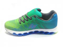 Parrot Green-Blue Sport Shoes