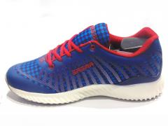 Navy Blue-Light Blue Sport Shoes