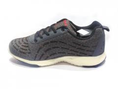 Grey-Black Hybrid style Sport Shoes