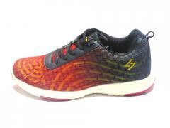 Red-Black Hybrid Sports Shoes