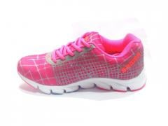 Pink-Grey women's Sport Shoes
