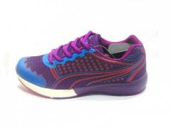 Purple-Blue Women's Sport Shoes