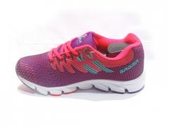 Purple-Sea Green Women's Sport Shoes