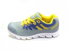 Grey-Blue Liana Women's Sport Shoes