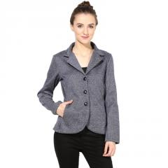 Blue polar fleece jacket
