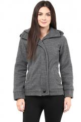 Grey polar fleece jacket