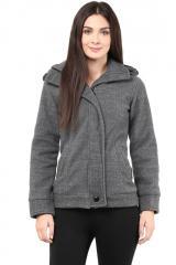 Grey polar fleece jacket