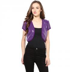 Purple sequenced shrug