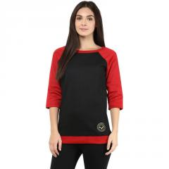 Sweatshirt In Black Color With Logo In Gold Lurex Embroidery