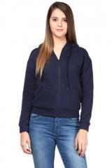 Blue hood jacket