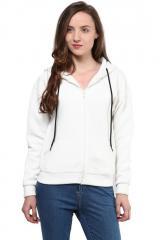White hood jacket