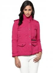 Fuchsia quilted jacket