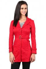 Red lace jacket