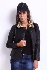 Pure Soft Lamb Black Leather Jack100%