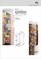 Vertical Storage Corner