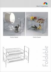 Foldable Multi Layer Storage Shelf Rack