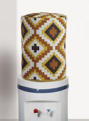 Brown White Bottle Cover
