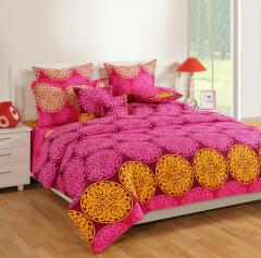 Purple Colour Double AC Comfortor