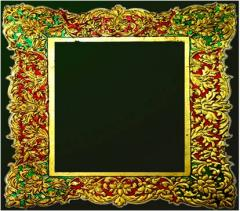 Gold Embossing (Wooden Frames)