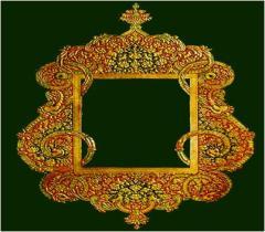 Gold Embossing (Wooden Frame)