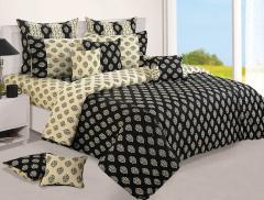 Black Color Bed sheet