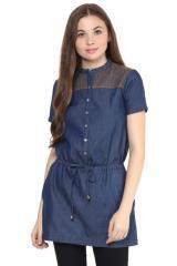 Dark Blue Tunic Dress