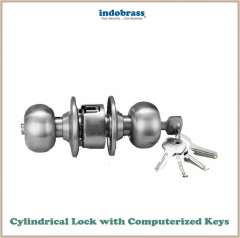 Cylindrical Lock with Computerized Key