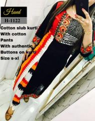Cotton Kurti with authentic Button