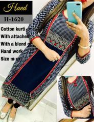 Handwork Cotton Kurti