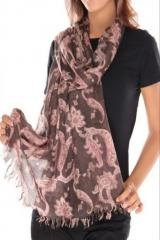 The Vanca Women ScarfBrown
