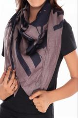 The Vanca Women ScarfGrey/Blue