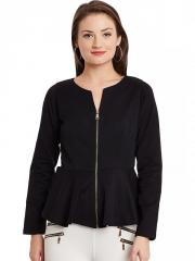Peplum black Jacket