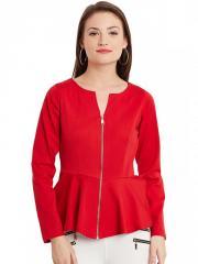 Peplum Red Jacket