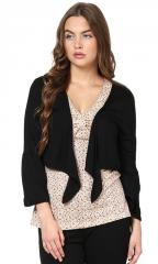 Trend 18 Black Crop Shrug