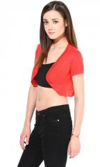 Red Small Shrug