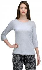 Trend 18 Grey Single Pocket Top