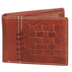 Black Genuine Leather Wallets for Men
