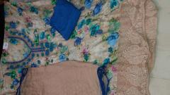 Modal kranchi Un-stitched Suit
