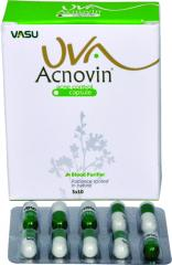 UVA Acnovin Capsule / Cream/ Face Pack (For Healthy & Glowing Skin)